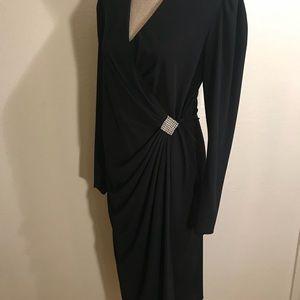 Vintage Dresses - Beautiful vintage wrap dress